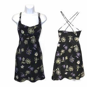 Vintage Rampage | 90's Mini Dress Floral Print Y2K